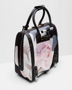 Porcelain Rose travel bag - Black | Bags | Ted Baker