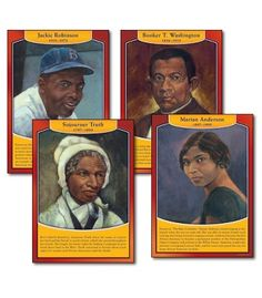 Famous African Americans Bulletin Board Set - Carson Dellosa Publishing Education Supplies #CDWishList