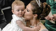 Crown Princess Victoria and Princess Estelle of Sweden
