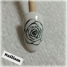 バラの描き方  Nailism☆〜ネイルデザイン&レシピ