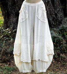http://www.ebay.com/itm/OH-MY-GAUZE-Cotton-Lagenlook-GUCHI-Pants-Harem-Layered-M-L-XL-1X-2015-COLORS/201371973170?_trksid=p2047675.c100005.m1851