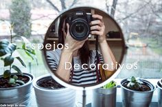 Increíbles espejos decorativos handmade