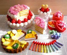 Felt Birthday Food Inspiration * No instructions available.
