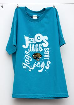 Jacksonville Jaguars Tees by Karen Kurycki, via Behance