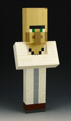 Hey, I found this really awesome Etsy listing at https://www.etsy.com/listing/208616168/lego-minecraft-villager-custom