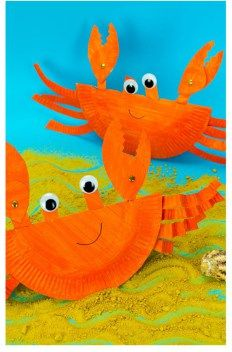 Crafts and Coloring Page: rocking crab craft – ocean kid craft – crafts for kids- kid crafts – acraftylife… Ocean Kids Crafts, Crafts For Kids To Make, Toddler Crafts, Preschool Crafts, Projects For Kids, Art For Kids, Kid Crafts, Easy Crafts, Ocean Themed Crafts
