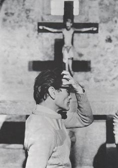 Pier Paolo Pasolini  Reminds me of my Catholic upbringing and education.