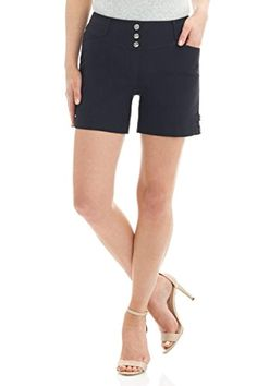 First Impressions Girls Ruffled Waist Casual Walking Shorts