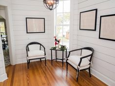 I really like the chairs - contemporary version of a classic style.