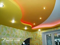 plasterboard suspended ceiling systems and designs, multi-level ceiling