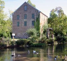 Old Mill In Linvale on Park St at Silver Creek Floyd Co - GA
