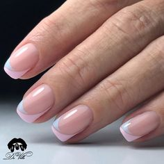 Wedding Nails-A Guide To The Perfect Manicure – Page 7121576050 – NaiLovely Nagellack Design, Nagellack Trends, Gel French Manicure, French Tip Nails, Elegant Nails, Stylish Nails, Toe Nails, Pink Nails, Nail Deco