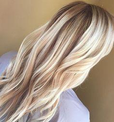 Beautiful Strawberry Blonde balayage  Hair by Julie Vickerman