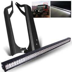 Jeep Wrangler TJ 1997-2006 LED Light Bar with Mounting Brackets