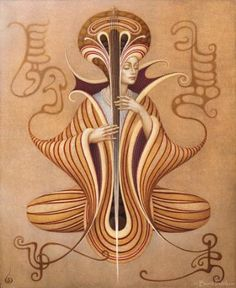 """Saatchi Art Artist Boris Indrikov; Painting, """"Sarasvati Dreams"""" #art"""