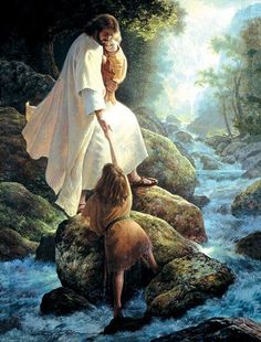 """Be Not Afraid is a 500 piece jigsaw puzzle. Featuring artwork by Greg Olsen. Puzzle measures 18 x 24"""" when complete. Sunsout puzzles are Eco-friendly soy-based inks Recycled boards. Made 100% in the U"""