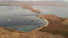 Top view from giri lawa