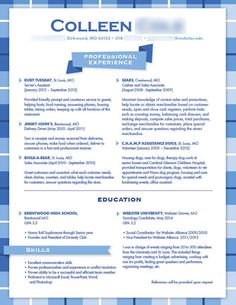 This would be welcome in more creative or design fields Best Resume, Resume Tips, Graphic Resume, Fashion Resume, Good Resume Examples, Design Fields, Prompts, Resume Styles, Knowledge