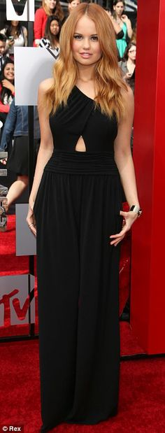 Debby Ryan + gown