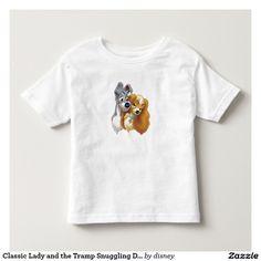 Classic Lady and the Tramp Snuggling. Baby, bebé. Disney. Producto disponible en tienda Zazzle. Vestuario, moda. Product available in Zazzle store. Fashion wardrobe. Regalos, Gifts. Link to product: http://www.zazzle.com/classic_lady_and_the_tramp_snuggling_disney_toddler_t_shirt-235972692962239666?CMPN=shareicon&lang=en&social=true&rf=238167879144476949 #disney #camiseta #tshirt