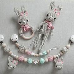 Mesmerizing Crochet an Amigurumi Rabbit Ideas. Lovely Crochet an Amigurumi Rabbit Ideas. Crochet Baby Toys, Crochet Amigurumi, Crochet Bunny, Crochet For Kids, Amigurumi Patterns, Diy Crochet, Crochet Dolls, Baby Girl Crochet, Baby Knitting Patterns