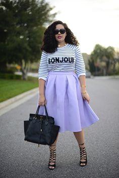 Stripes & Lilac