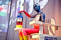 Make My Event aanwezig ter promotie van de nieuwe limited edition fles van Absolut Vodka: Absolut Unique!