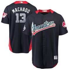 f5f660ee Manny Machado American League Majestic 2018 MLB All-Star Game Home Run  Derby Player Jersey – Navy