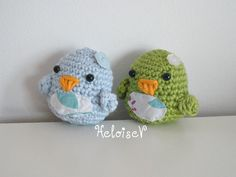 Crochet Easter Chick  one chick  choose your color by HeloiseV on etsy.