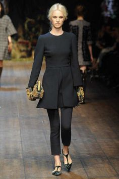 Dolce & Gabbana | Fall 2014 Ready-to-Wear Collection | Style.com #Minimalist #Minimalism #Fashion