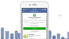 #Facebook lanza Safety Check para ayudar en Desastres Naturales. Imagen: Anuncio Facebook Oficial