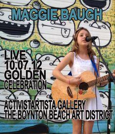 Maggie Baugh | Maggie Baugh will open for Steve Minotti at Golden!