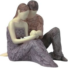 New Baby Joy-Mother and Father with Newborn Figurine Available at AllSculptures.com