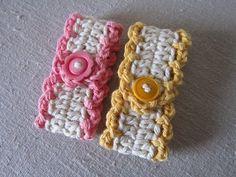 Miss Abigail's Hope Chest: crocheted towel tender ༺✿ƬⱤღ✿༻