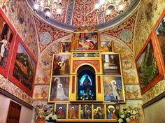 Altar de l'ermita de Santa Marina