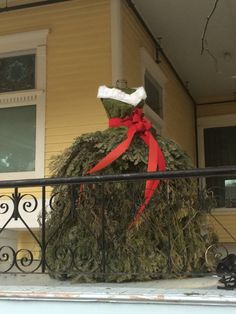 Haute Couture Christmas Dress, McKinney, TX