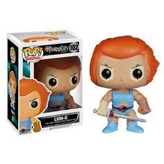 Figura coleccionable Funko POP! de Thundercats Lion - O. Inspirada por diseñadores de juguetes, son personajes estilizados y adorables...
