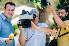 So schaut es aus, wenn man von einem RTL-Team gefilmt wird.  Gruselig ;-)). Die ganze Story bald auf unsere Webseite: http://www.1000Momente.de #Hochzeitsfotograf #Hochzeitsfilm #Mallorca #1000Momente