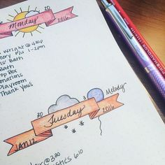 12 Layout Ideas You'll Want to Steal for Your Bullet Journal