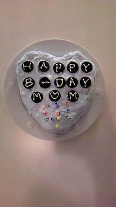 Mom's bday cake
