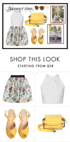 """""""summer timee, by Armina #1"""" by armina-saric ❤ liked on Polyvore featuring Raoul, SPECIAL DAY, rag & bone and Thierry Lasry"""