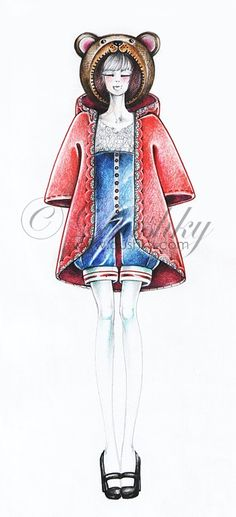 the wonderful grove 07 by dushky.deviantart.com on @deviantART #dushky #fashionillustration