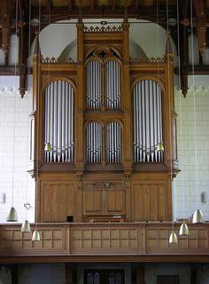 Neu Zauche - Village Church, organ by pietbron, via Flickr