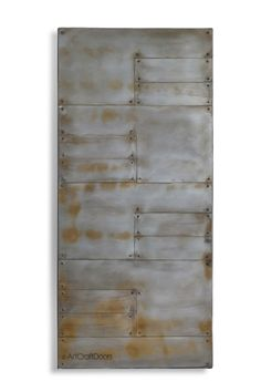Planked Modern Steel Barn Door by ArtcraftDoors on Etsy https://www.etsy.com/listing/289750585/planked-modern-steel-barn-door
