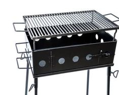 36X24 Steel Argentine V Grate By JD Fabrications BBQ   Etsy Grill Cart, Grill Table, A Table, Asado Grill, Argentine Grill, Kamado Joe, Portable Grill, Grill Grates, Grill Master