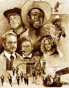 Blazing Saddles By RobD4E Hilarious Movie Still Funny After All These Years