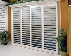 Sliding Plantation Shutters from blog:   O R A N G E + P E A C H: January 2011