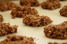 No Bake Travel Cookies with Coconut Oil and Flaxseed...yum!