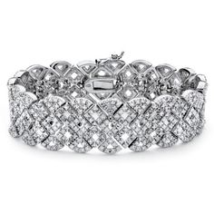 PalmBeach Jewelry 3/8 TCW Diamond Vintage-Inspired Bracelet, Women's and other apparel, accessories and trends. Browse and shop 8 related looks.