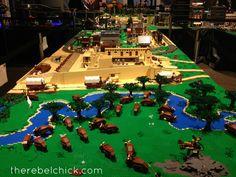 Colorado history museum lego exhibit